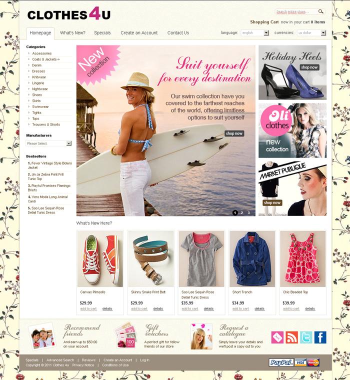 Интернет магазин одежда